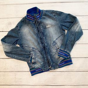 Marithe Francois Girbaud Vintage Jean Jacket Sz M